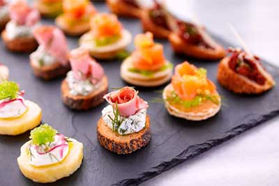 Canapes & Finger Food - In villa Personal Chef